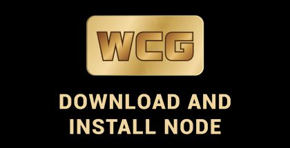 DOWNLOAD AND INSTALL WCG NODE